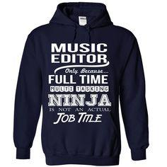 (Top Tshirt Popular) MUSIC-EDITOR [Tshirt design] Hoodies
