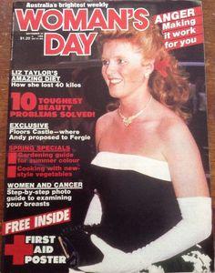 Woman's Day Magazine September 22, 1986 - Fergie