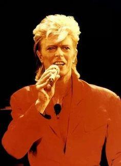 David Bowie, 80s.