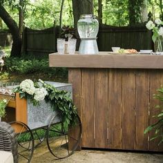 Summer nights call for entertaining outdoors! Take a peek at this fabulous @lacremawines party by @stylewithinreach (starring our Galvanized Metal Caravan Bar Cart, PB Classic Drink Dispenser and more!) on the blog. Photos by @kristaajones