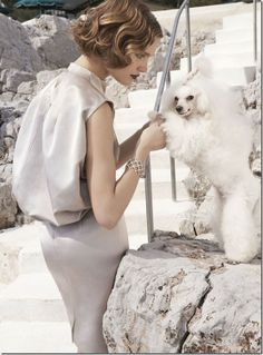 Paris Hotel Boutique Journal: Who Said That Poodles Aren't 'Real' Dogs?