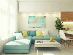 odlično iskorišćen prostor iznad garniture - Namestaj24.com