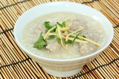 Chinese Rice Porridge Recipe: Comforting Chicken Congee