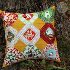 Tell Me A Story Holiday Pillow | by During Quiet Time (Amy)