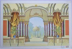 this is a lovely background. Alfred Jacobsen C 368. Copyright. - SKD Online Collection