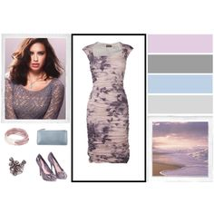 """""""Soft Summer Outfit #1"""" by yourbestcolors on Polyvore"""