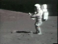 Even though a lighter wouldn't work on the moon, let alone be able to smoke a bong with a spacesuit on, this is me.
