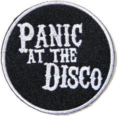 AmazonSmile: Panic At the Disco Heavy Metal Punk Rock Music Band Logo Patch Sew…