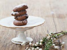 Salted Dark Chocolate & Earl Grey Buttermilk Cookies