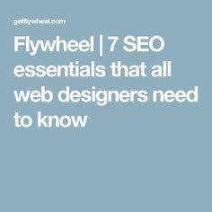Flywheel | 7 SEO ess
