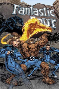 Marvel Adventures Fantastic Four comic books Comic Book Characters, Comic Book Heroes, Marvel Characters, Comic Books Art, Book Art, Marvel Comics Superheroes, Marvel Heroes, Marvel Dc, Fantastic Four Marvel