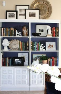 When it comes to decorating bookcase shelves and the inside of armoires you can find lots of great tips and examples on how to get the best look on design blogs, in magazines and on Pinterest.  When it comes to decorating the tops of bookcase and armoires it's harder to find tips and design ideas on what to do with this space.  After working … … Continue reading →