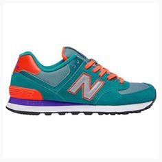 4a7d55cd4760 New Balance Womens 574 Paradise Awaits Green Mesh Trainers 7 US (*Partner  Link)