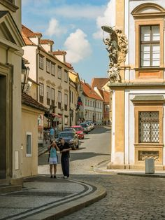 Loretanská street, Prague_ Czechia #prague #czechia #czechrepublic