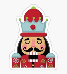Christmas Cartoon Stickers stickers featuring millions of original designs created by independent artists. Nutcracker Christmas, Christmas Love, Christmas Balls, Christmas Crafts, Christmas Decorations, Xmas, Cartoon Stickers, Cute Stickers, Christmas Stickers