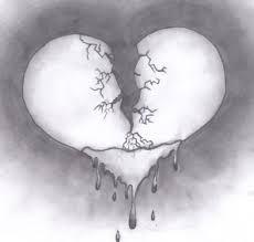 Kirik Kalp Karakalem Cizimleri Ile Ilgili Gorsel Sonucu Kirik