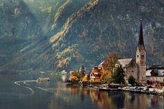 """ethereo: """" The extremely picturesque town of Hallstatt in upper Austria. It is listed by UNESCO as a World Heritage Listed Site Photo's by tanit, david campbell, thomas straubinger and ruj """" I'm Going to Austria in 5 weeks. Not to Hallstatt, but..."""
