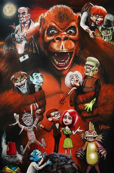 MAD MONSTER PARTY by Woody Welch by woodywelch