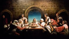 The Last Supper painted by my cousin Ben McPherson