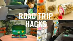 Take your family vacation to the next level with these time-saving, mess-free Road Trip Hacks! With these hacks, you can organize your road trip with hanging back seat storage, entertain your kids with a DIY Lego Kit and DIY Magnetic Chalkboard, and keep the car clean with a Spill-Proof Jar.