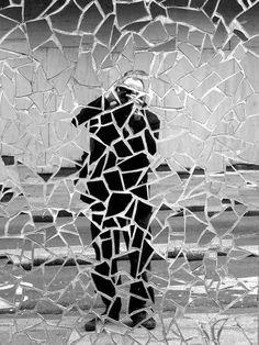 Cracked photography/self portrait