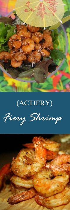 Read More About Fiery Shrimp (Actifry) Recipe Air Fry Recipes, Fish Recipes, Seafood Recipes, Asian Recipes, Cooking Recipes, Healthy Eating Recipes, Vegan Recipes Easy, Organic Recipes, Vegetarian Recipes