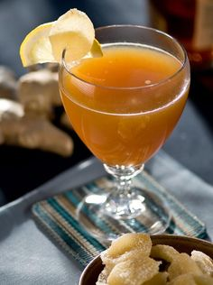 Hot Apple-Ginger Toddy. Delicious! Here's the recipe: http://www.hgtv.com/entertaining/hot-apple-ginger-toddy-recipe/index.html?soc=pinterest