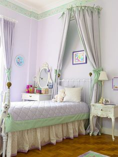 The lavender & green is a different, but pretty color scheme. Home Design, Pictures, Remodel, Decor and Ideas - page 6