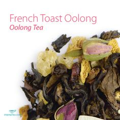 French Toast Oolong, Oolong Tea. Fresh berries mixed with the mouth-watering hint of French toast. This is our favorite way to sip oolong!