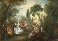De Watteau à Fragonard - Celebrações Galantes no Museu Jacquard André Jean- Honoré