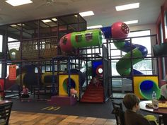 I remember when I went to McDonald's, I always went into the PlayPlace. It was fun!