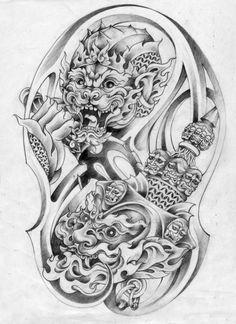 Tattoo Images Khmer Cambodia On Khmer Tattoo By Brilliant Khmer Tattoo Ideas Tigergesicht Tattoo, Khmer Tattoo, Doodle Tattoo, Tattoo Hand, Chest Tattoo, Tattoo Quotes, Tiger Face Tattoo, Skull Girl Tattoo, Family Tattoo Designs