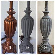 Americana Chalky Paint Lampe DIY Bastellager Source by jadynlyn Lamp Redo, Lamp Makeover, Furniture Makeover, Chandelier Makeover, Chalky Paint, Painting Lamps, Outdoor Light Fixtures, Outdoor Lighting, Brass Lamp