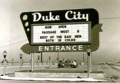 Duke City Drive-In Entrance Albuquerque, NM