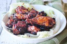 Chicken Wings in Honey BBQ Sauce