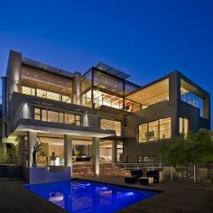 Luxury Property Design of Johannesburg, South Africa Style At Home, Villa Architecture, Architecture Company, Amazing Architecture, Design Blogs, Home Design, Interior Design, Modern Design, Design Styles