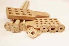 Solid Wood Viking Knit Draw Plate Kit Viking by KaterinaCollection, $33.00