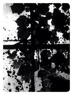 Inkblot window