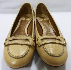 Chloe' chaussures women shoe flat size 37.5/7.5 beige NIB MSRP $450 CH7032 #Chlo #LoafersMoccasins