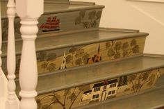 painted stairs | painted stairs | Flickr - Photo Sharing!