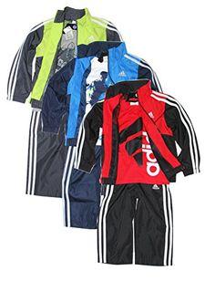 Adidas Boys 3-piece Athletic Windsuit