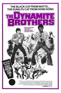 The Dynamite Brothers  #Movie #Blaxploitation #70s #Poster #Exploitation