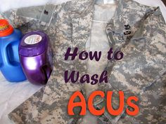 Wash ACUs the right way!