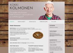 Koko kansan tuntema tv-kokki Jaakko Kolmonen uudisti kotisivujensa ulkoasun Kotisivukoneen Avaimet käteen -palvelun avulla.