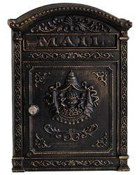 Ecco 6 Wall Mount Mailboxes Bronze
