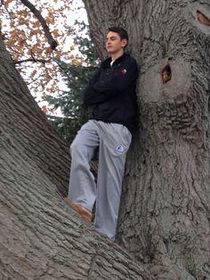 Climb a tree in between races