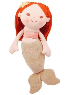 Mermaid Nursery Decor: Mermaid Plush Doll