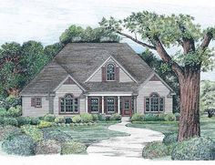 Eplans New American House Plan - Inviting Appeal - 1819 Square Feet and 3 Bedrooms from Eplans - House Plan Code HWEPL09634