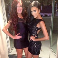 Lilly Ghalichi, dress from Hermz Boutique in LA