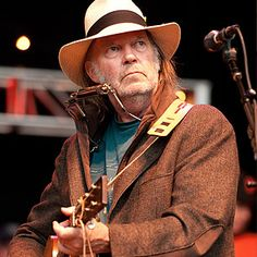 Neil Young.. not so young but it happens to us all at the same rate